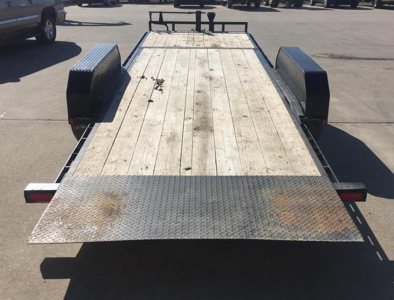 2016 PJ Trailers T6 22 Gravity Tilt Equipment Trailer