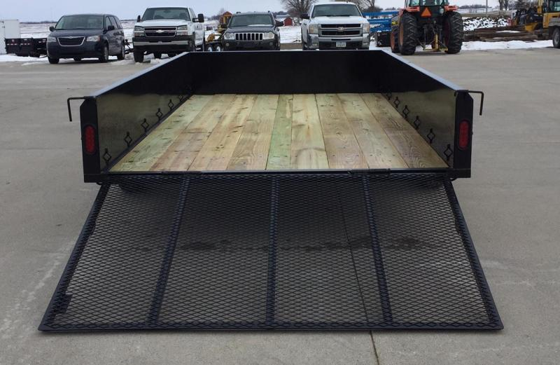 2019 Maxwell Iron Star Solid Side Utility Trailer