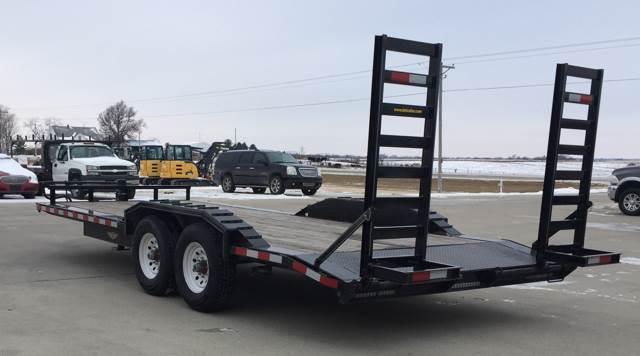 2015 H&H 20' XtraWide Equipment Trailer