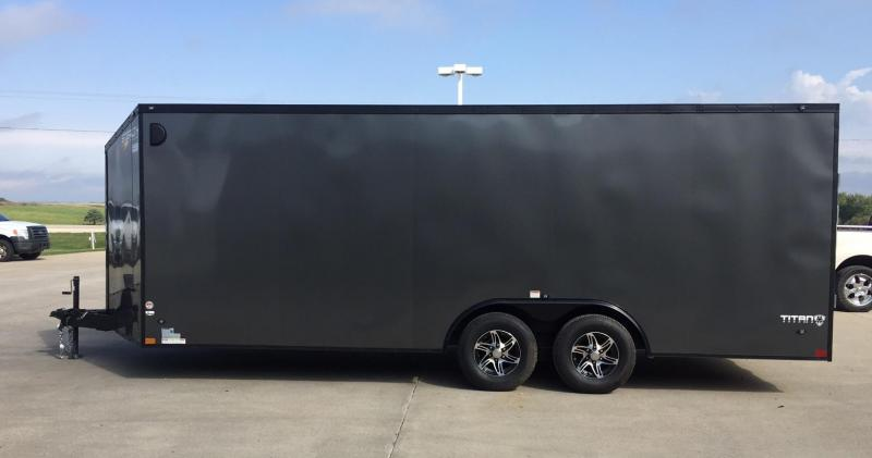 2019 Stealth Trailers Titan 8.5x 20x78 V-Nose Enclosed Cargo Trailer