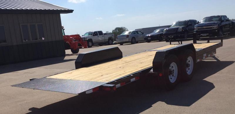 2019 PJ Trailers T6 22 Gravity Tilt Equipment Trailer