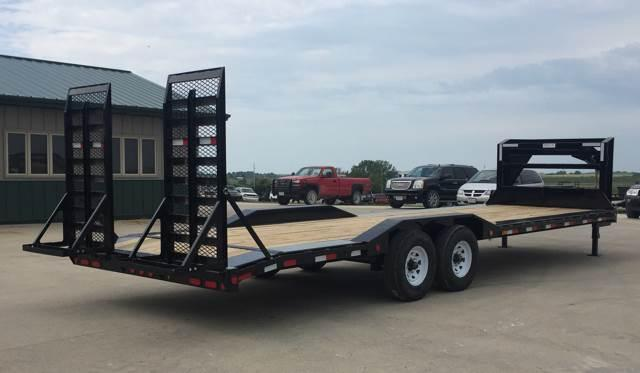 2019 PJ TRAILERS H6 28' GN HD SuperWide Trailer