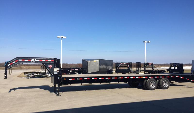 2019 PJ Trailers FD322 G-Neck 32'  Flatbed Trailer