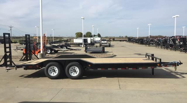 2018 PJ Trailers B6 22' Super-Wide 14K Trailer