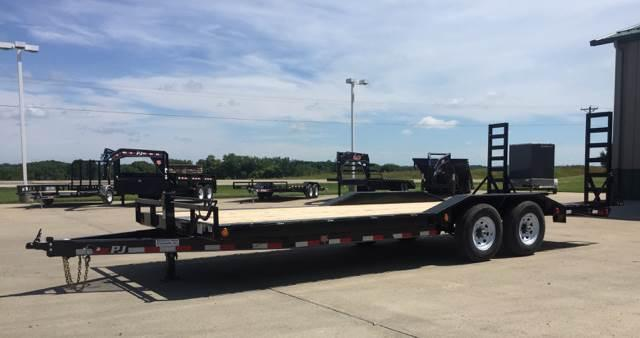 2019 PJ Trailers B6 22' Super-Wide 14K Trailer