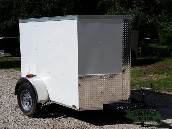 5x6ft CARGO TRAILERS IN STOCK! Enclosed Trailer with REAR DOOR, in Ashburn, VA
