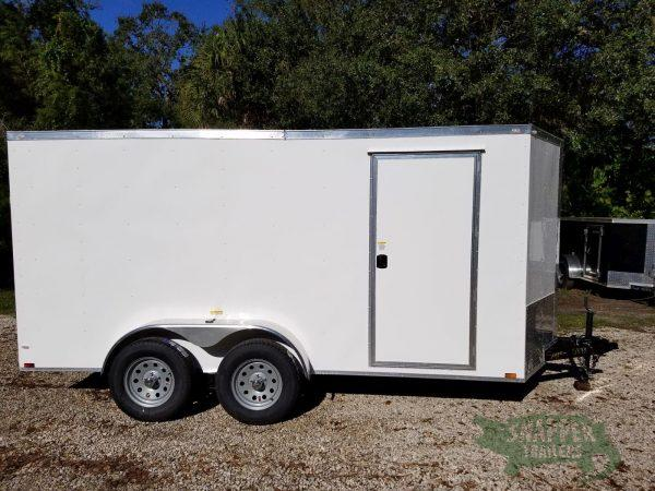 Enclosed Trailer 6x14 with Side Door and Additional Height for sale, in Ashburn, VA