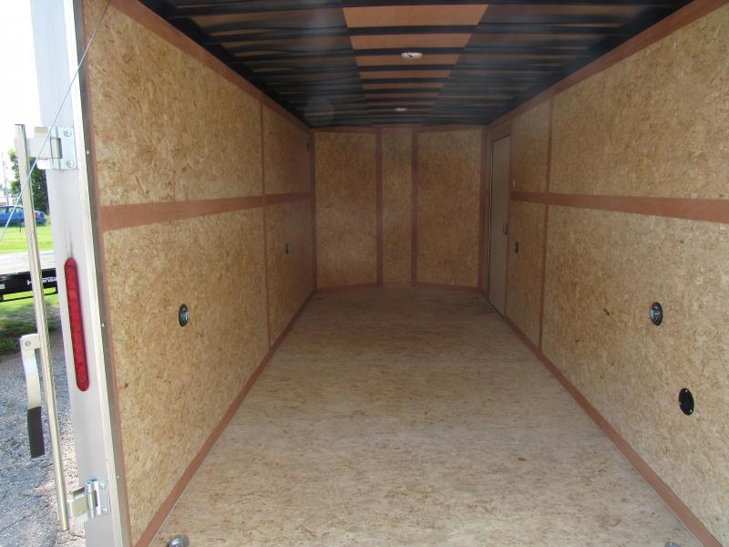 "2019 Wells Cargo Road Force 7 X 16 V-Nose Enclosed Cargo Trailer w/ 6'6"" Ceiling"