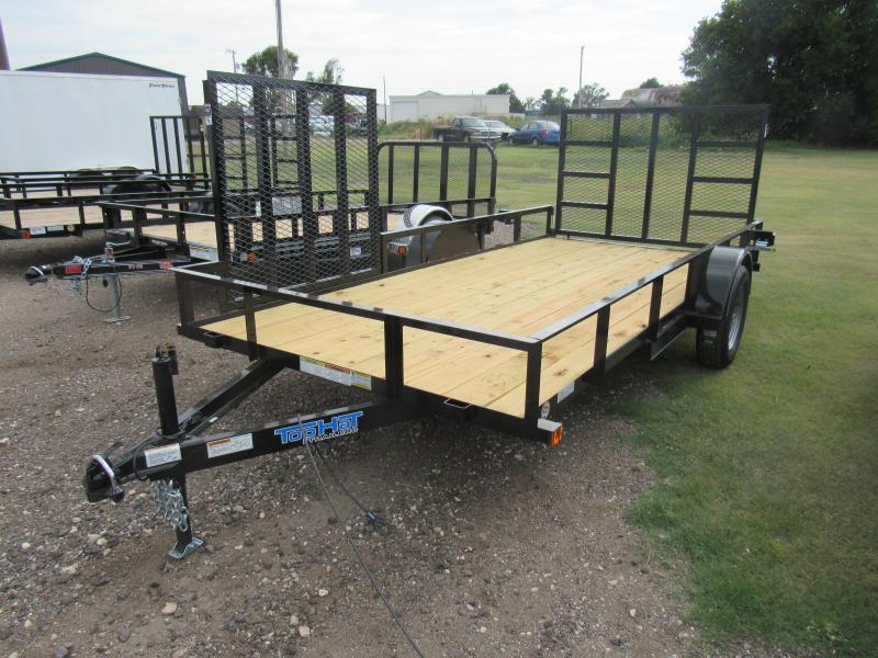 """2019 Top Hat Trailers Utility 77"""" X 14' Utility Trailer"""