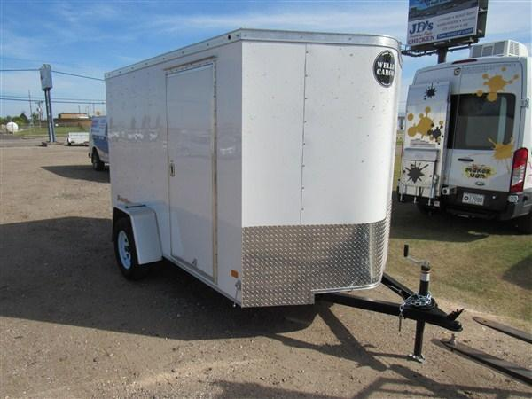 2019 Wells Cargo FastTrac 6 X 10 V-Nose Enclosed Cargo Trailer w/ 6' Ceiling