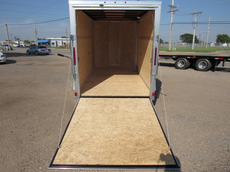 2020 Wells Cargo Fast Trac 6 X 12 V-Nose Enclosed Cargo Trailer