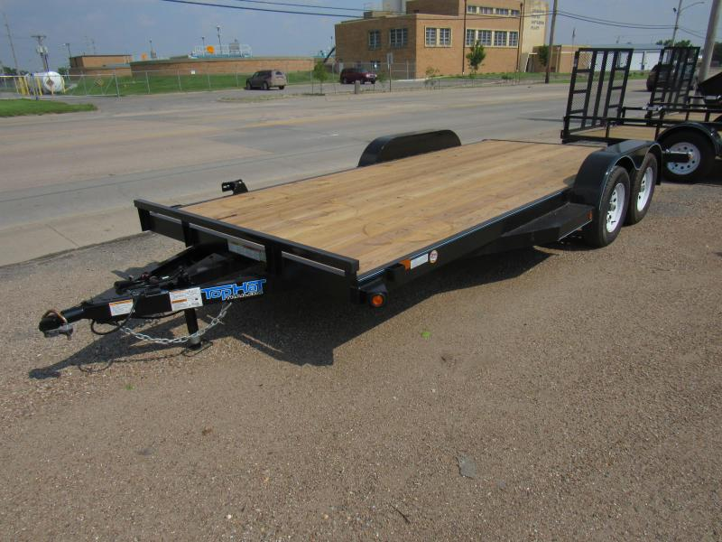 2019 Top Hat Trailers Deluxe Car Hauler Car / Racing Trailer