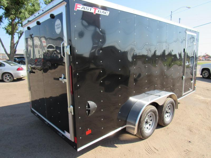 2019 Wells Cargo Fast Trac Enclosed Cargo Trailer 7 X 16 V-Nose