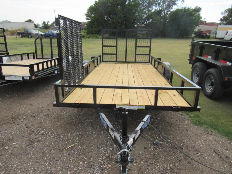 "2019 Top Hat Trailers Utility 77"" X 12' Utility Trailer"