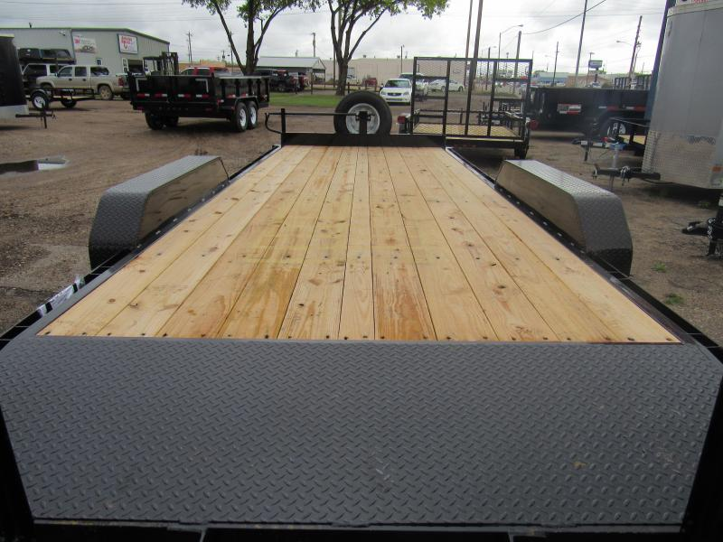 2019 Top Hat Trailers Equipment hauler 83 X 20' Equipment Trailer