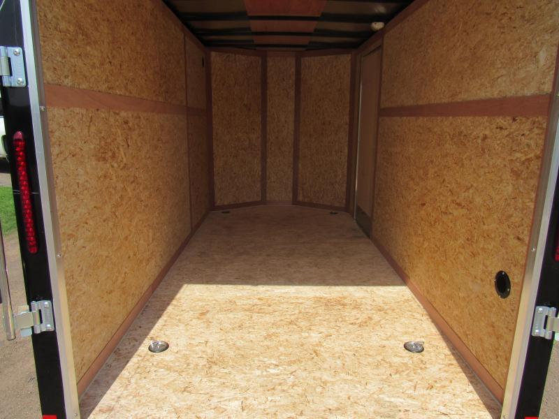 "2019 Wells Cargo FastTrac 6 X 12 V-Nose Enclosed Cargo Trailer w/ 6'6"" Ceiling"