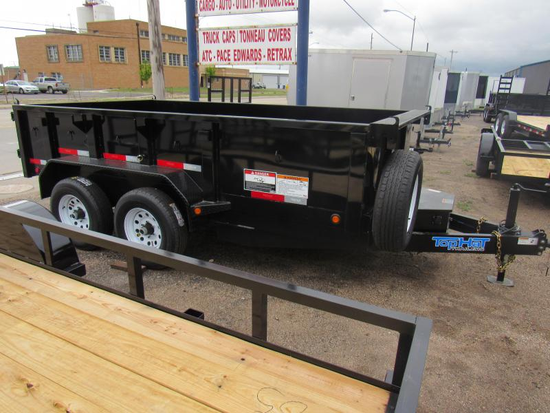 2019 Top Hat Trailers 77 X 12 Dump Trailer 10K