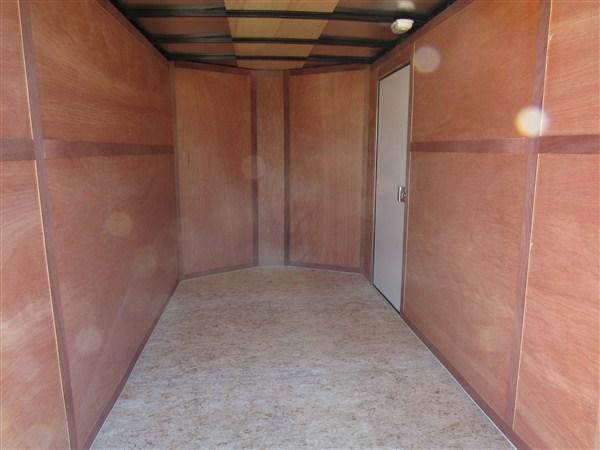 "2019 Wells Cargo FastTrac 6 X 10 V-Nose Enclosed Cargo Trailer w/ 6'6"" Ceiling"