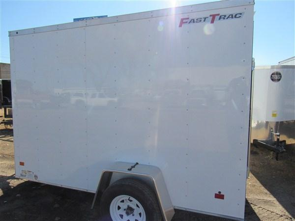"2019 Wells Cargo FastTrac 6 X 10 V-Nose Enclosed Cargo Trailer w/ 6'6"" Ceiling"