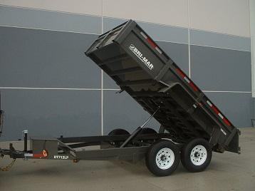 2018 Bri-Mar DT712LP-LE Dump Trailer