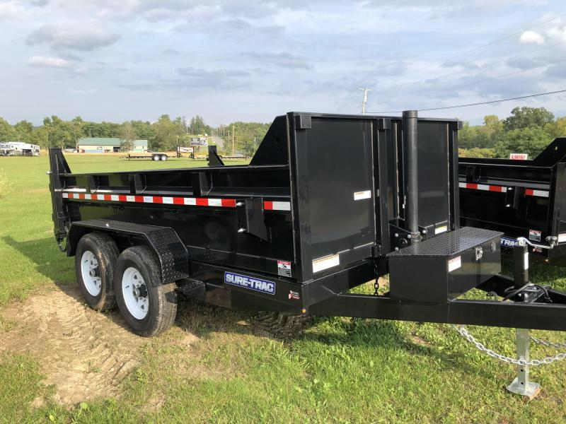 2019 Sure-Trac 82 IN X 12 LProfile Telescopic Dump 12K