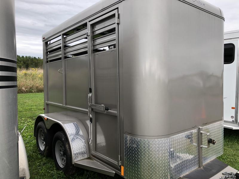 2018 Adam 10' STOCK Livestock Trailer