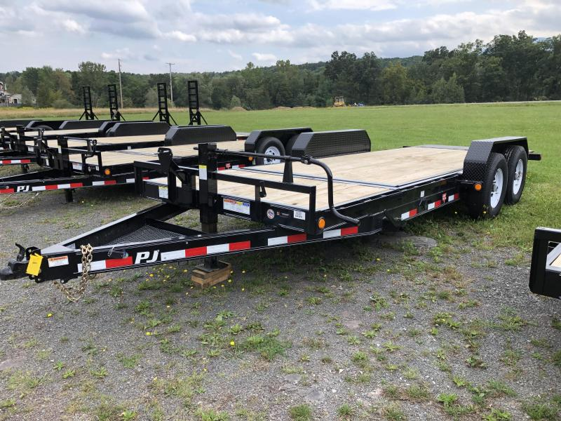2020 PJ Trailers 16+4 Tilt Deck Equipment Trailer