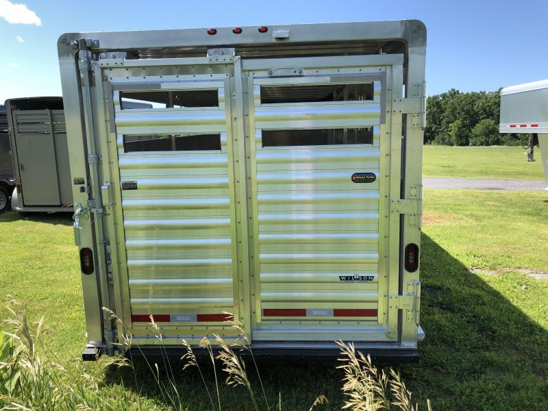 2020 Wilson Trailer Company 24' GN STOCK SLAT SIDE Livestock Trailer