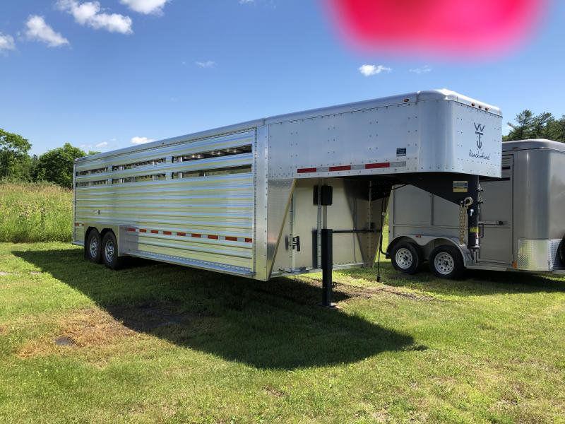 2020 Wilson Trailer Company 24' GN STOCK SLAT SIDE Livestock Trailer
