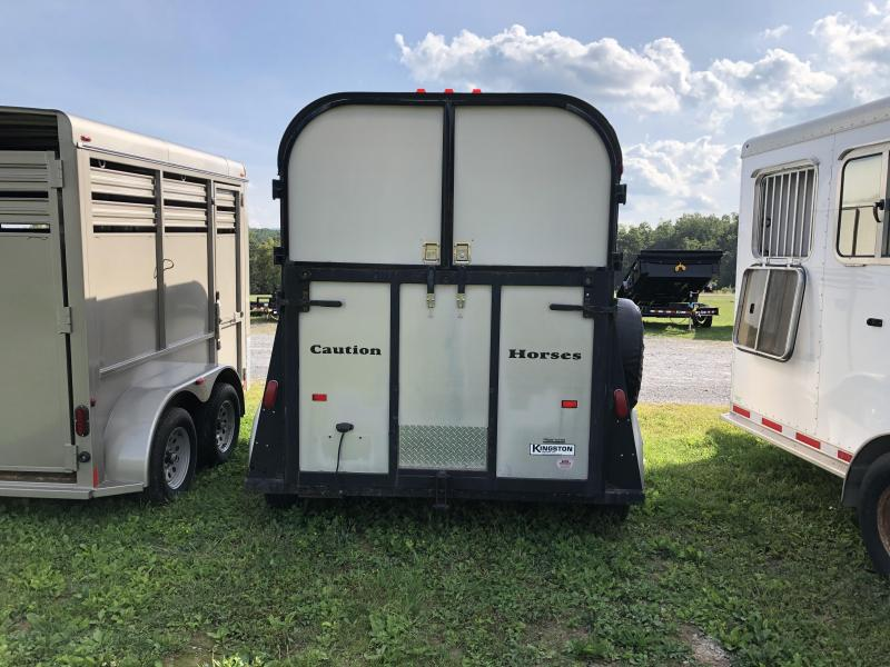 1999 Kingston Trailers Inc. 2 horse BP Horse Trailer