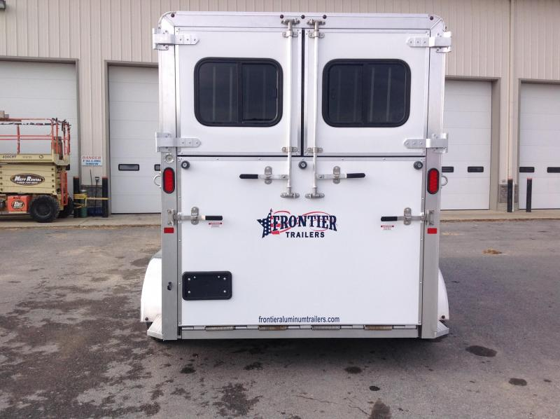 2019 Frontier Ambassador 2H Straight Load Horse Trailer