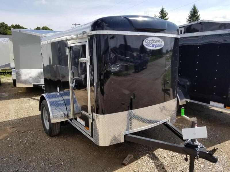 2019 Continental Cargo 5X8 Enclosed Cargo Trailer