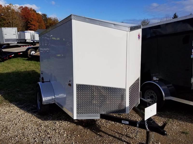 2018 US Cargo 5 X 8 Enclosed Cargo Trailer
