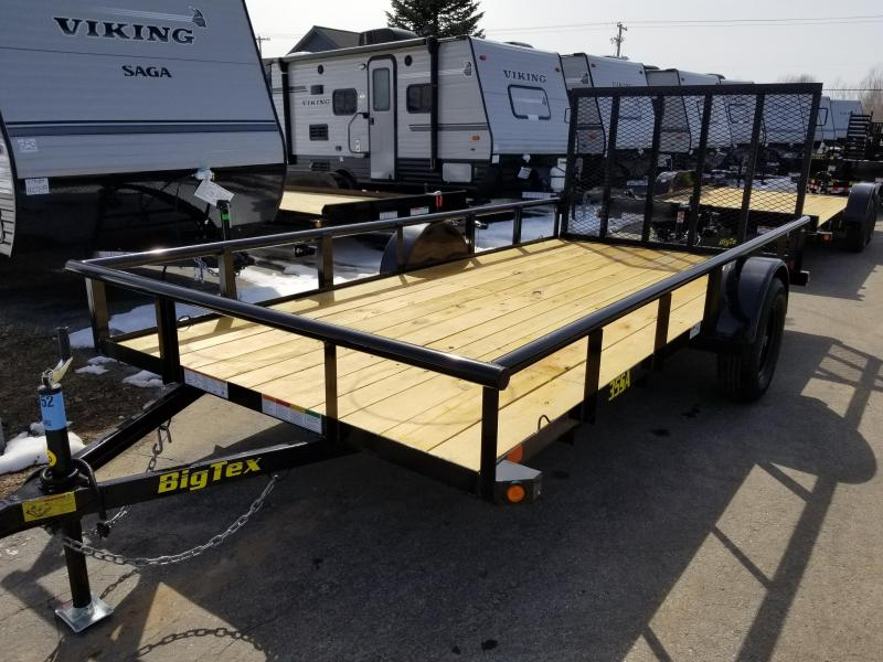 2018 Big Tex Trailers 35SA 6.5X14 Utility Trailer