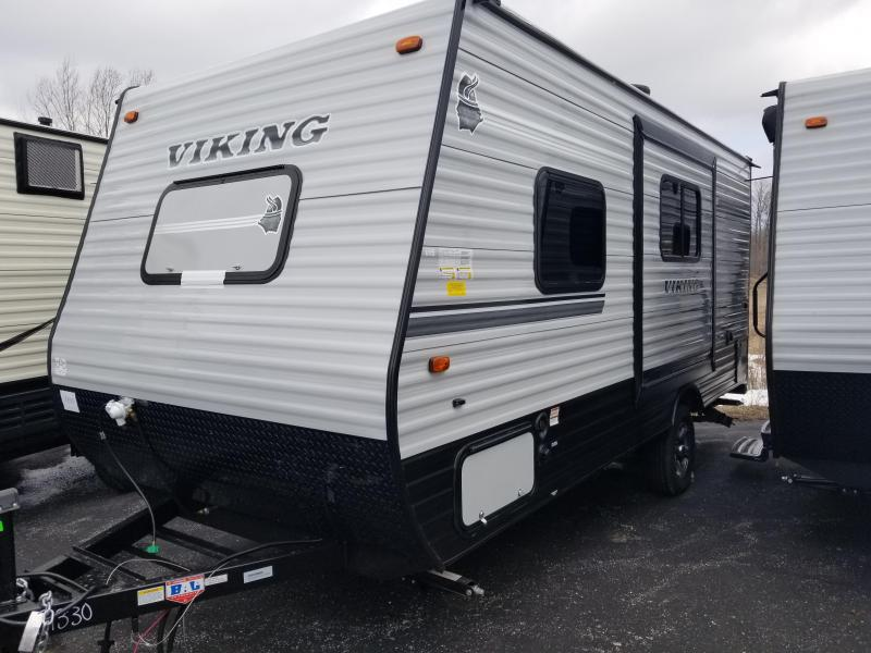 2018 Viking RV 17FQS Travel Trailer