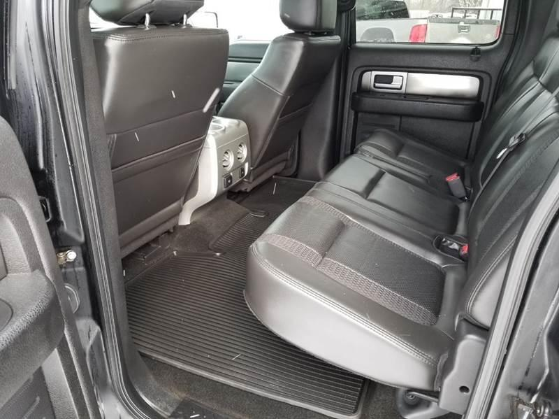 2012 Ford F-150 4x4 SVT Raptor 4dr SuperCrew Styleside 5.5 ft. SB