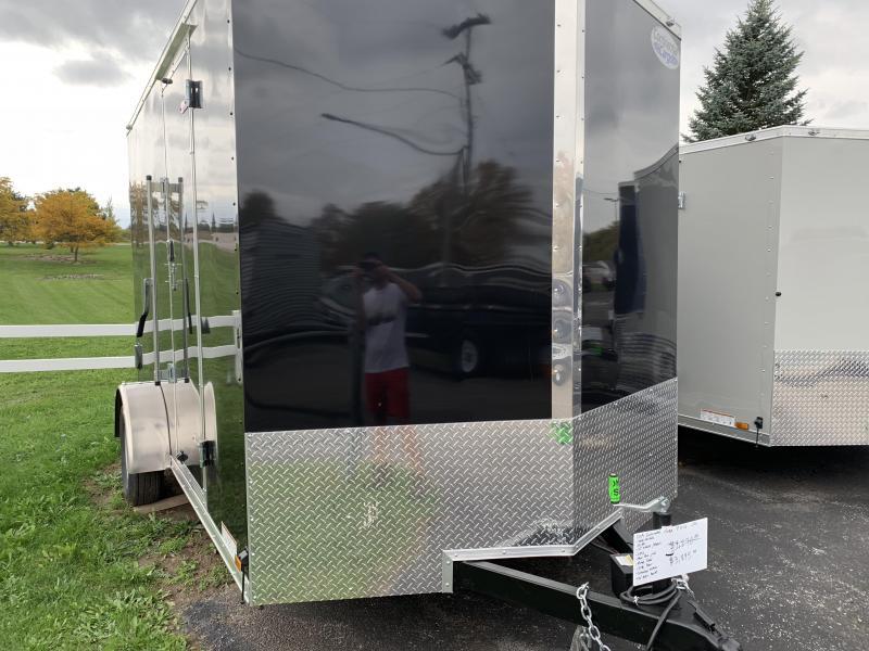 2019 Continental Cargo 7x12 utv Enclosed Cargo Trailer