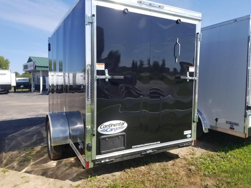 2019 Continental Cargo 6X12 Enclosed Cargo Trailer