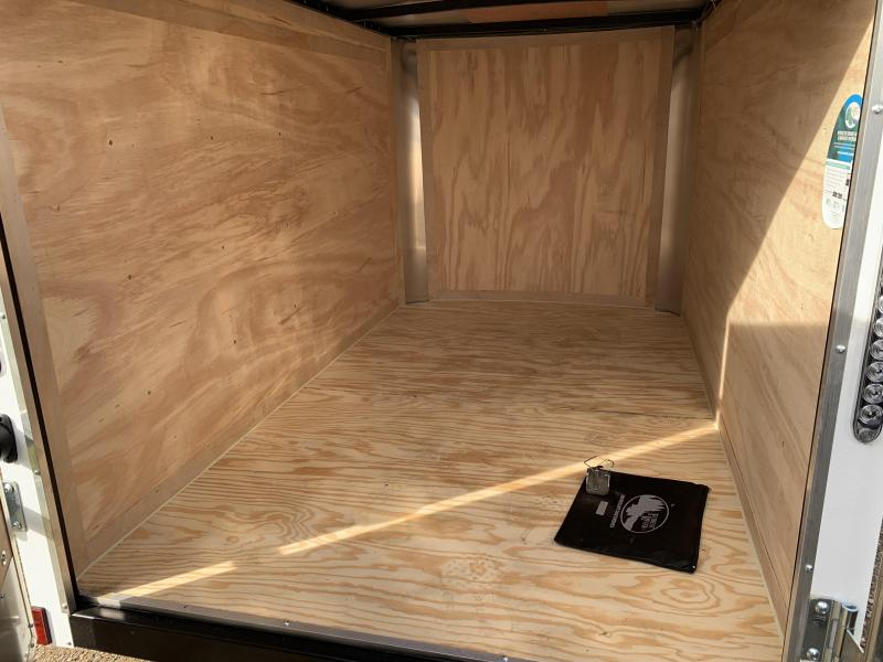 2019 Continental Cargo 5x8 rs Enclosed Cargo Trailer
