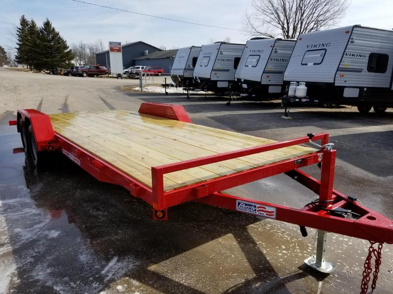 2018 Liberty 7X20 Flatbed Trailer