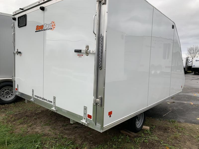 2019 Snopro 101X12 HYBRID Snowmobile Trailer