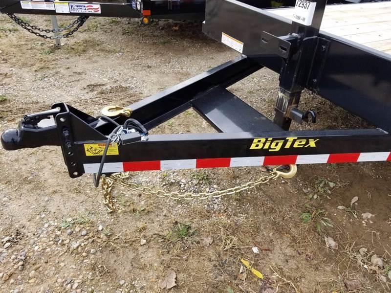 2018 Big Tex 14ET-20 Equipment Trailer