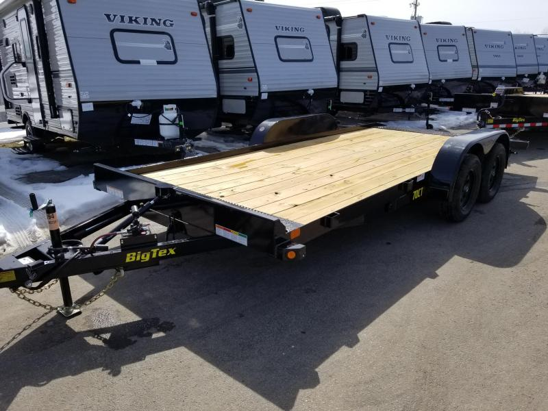 2018 Big Tex Trailers 70CT 18' TILT Car / Racing Trailer