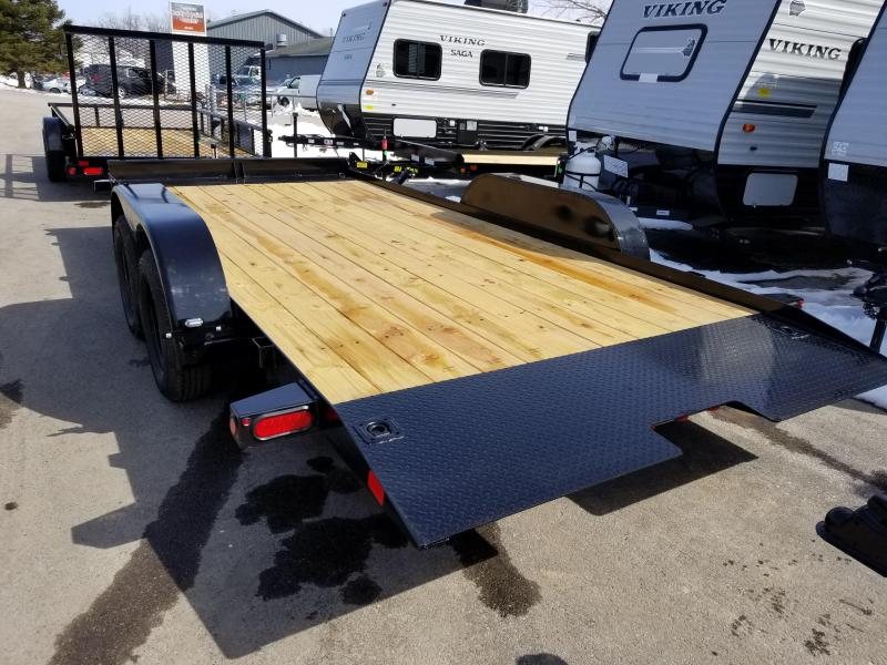 2018 Big Tex Trailers 70CT 18' TILT Car / Racing Trailer