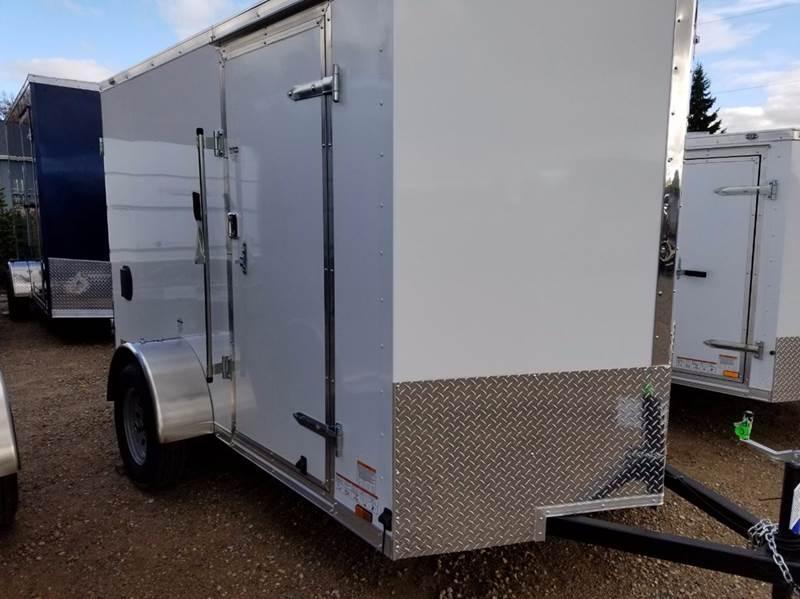 2018 Continental Cargo 6 X 10 Enclosed Cargo Trailer