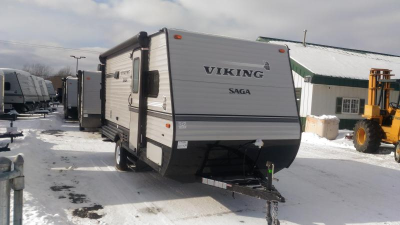 2018 Viking RV 17SBH Travel Trailer