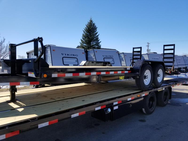 2018 Big Tex Trailers 14ET 20' Equipment Trailer