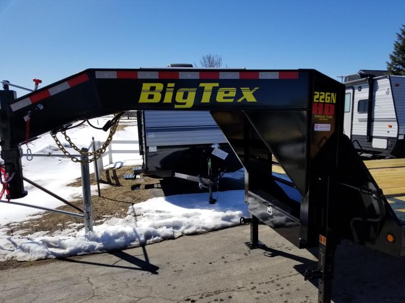 2018 Big Tex Trailers 22GN HDTS GOOSENECK Flatbed Trailer