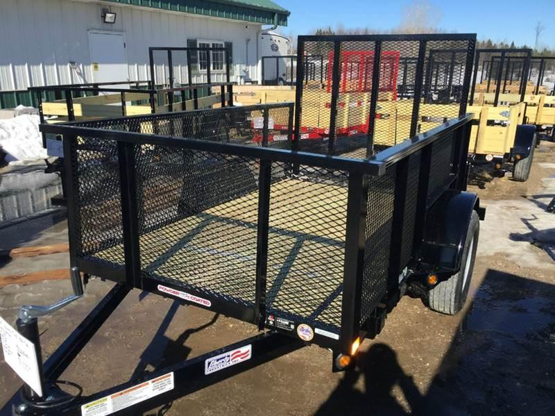 2017 Liberty 5 X 8 Mesh Side Utility Trailer