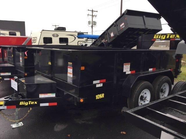 2017 Big Tex 10SR Dump Trailer